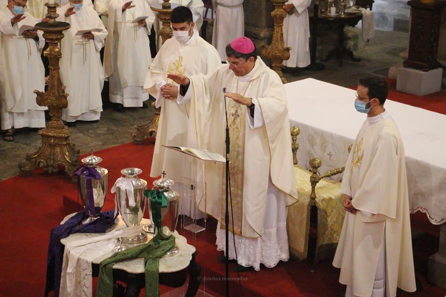Homilia na Celebração da Eucaristia Crismal com a renovação das promessas sacerdotais – 2020